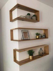 shelves for bedroom storage
