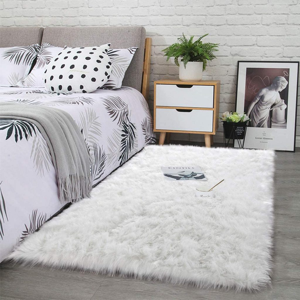 Bedroom rugs and sleep friendly environment