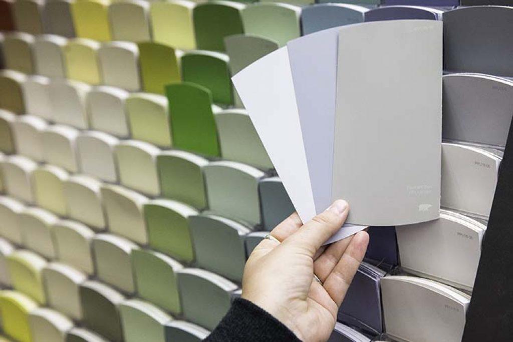 test paint colors