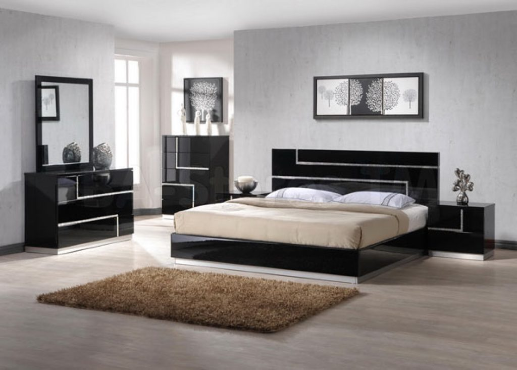 minimal furniture decor for bedroom