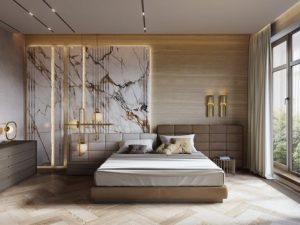 luxury bedroom art