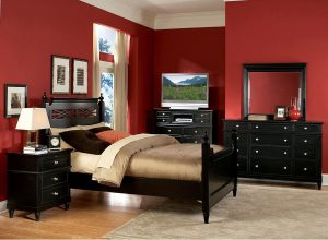 red bedroom decor ideas